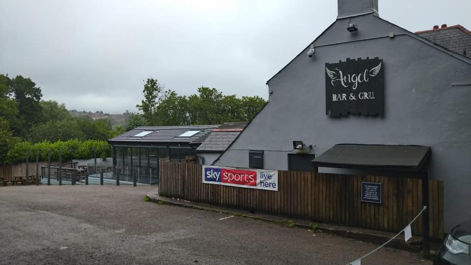 Angel Bar and Grill, Caerphilly